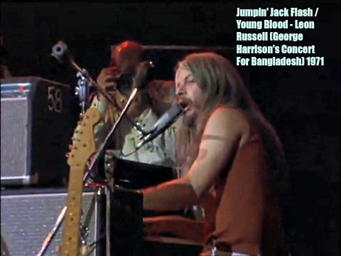 Jumpin' Jack Flash/ Young Blood - Leon Russell (Concert For Ba, by Leon Russell on OurStage