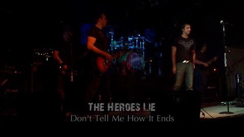 Don't Tell Me How it Ends Live at the Back Bar, by The Heroes Lie on OurStage