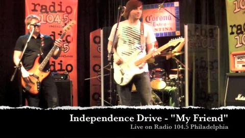 I-DRIVE live on Radio 104.5 Philadelphia, by INDEPENDENCE DRIVE on OurStage