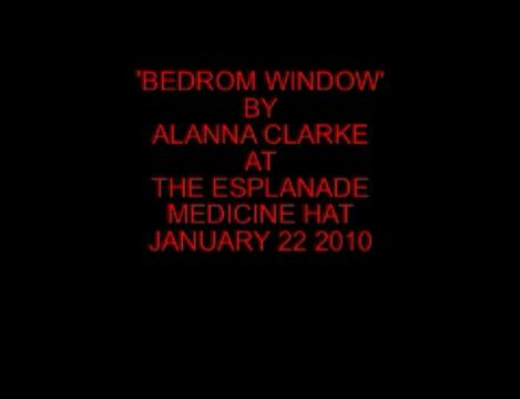 Bedroom Window, by Alanna Clarke on OurStage