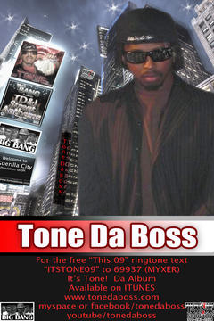 Dancin All Over Me, by Tone Da Boss on OurStage