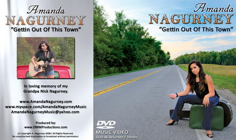 Gettin Out Of This Town , by Amanda Nagurney on OurStage