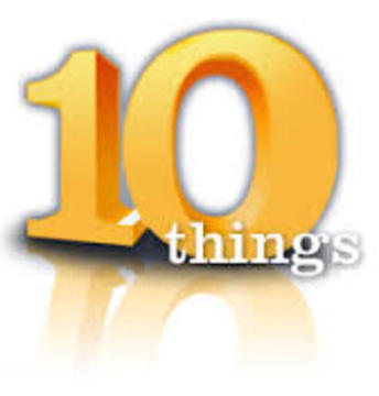 10 Things..., by Ron G on OurStage