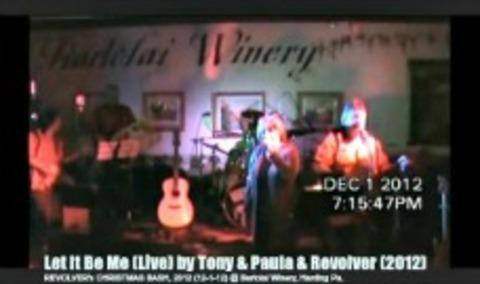 Let It Be Me (Live) by Tony & Paula & Revolver (2012), by Tony & Paula & Revolver on OurStage