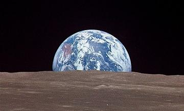 Lunar Earthrise, by Arkady on OurStage
