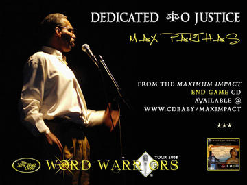 Dedicated To Justice, by Maximus Parthas on OurStage