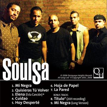 Mi Negra, by SOULSA on OurStage