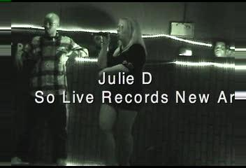 Julie D at club nite lite, by 2piece on OurStage