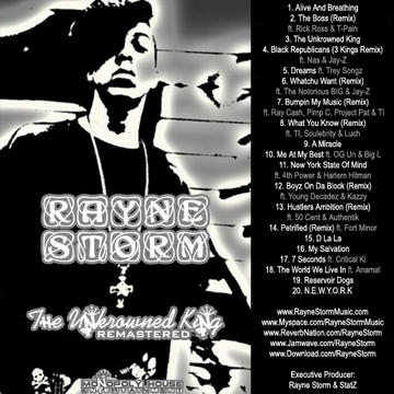 Bumpin My Music (Remix) ft. Rayne Storm, Pimp C, Project Pat, Ray Cash & T.I., by Rayne Storm on OurStage