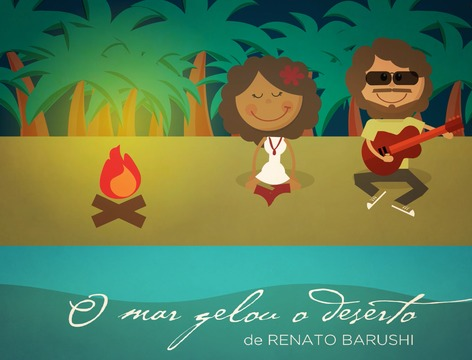 O Mar Gelou O Deserto (clipe animado), by Renato Barushi on OurStage