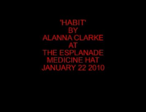 Habit, by Alanna Clarke on OurStage