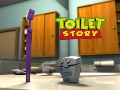 Toilet Story, by JaredM on OurStage