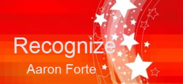 Recognize - Aaron Forte, by juscoday on OurStage