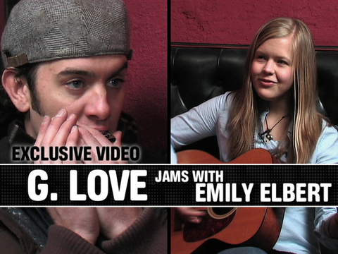 Emily Elbert with G Love, by Emily Elbert, G Love, OurStage Staff on OurStage