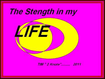 """THE STRENGTH IN MY LIFE, by TIM """" Hot licks """" on OurStage"""