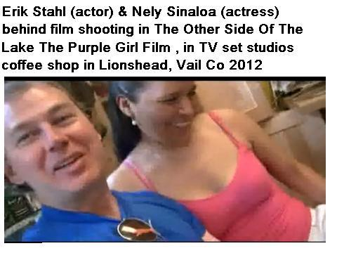MTV Erik Stahl and guest Nely Sinaloa in Vail Colorado ski season, by Behind film shooting The Other Side Of The Lake The Purple Girl Film in tv set s on OurStage