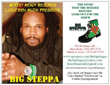 TheBigSteppa - Ten Percent, by TheBigSteppa on OurStage