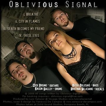 City in Flames, by Oblivious Signal on OurStage