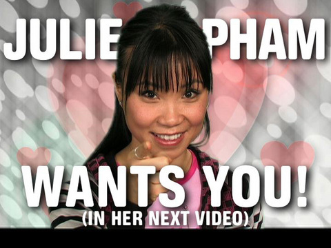 Wanna be in my next video?, by Julie Pham on OurStage
