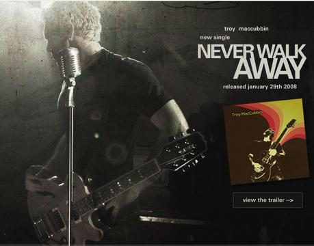 Never Walk Away, by Troy MacCubbin on OurStage