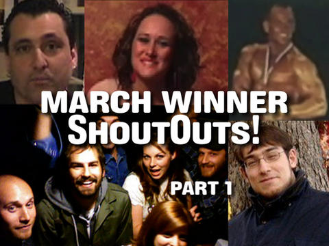 March Winner ShoutOuts:  Part 1, by ThangMaker on OurStage