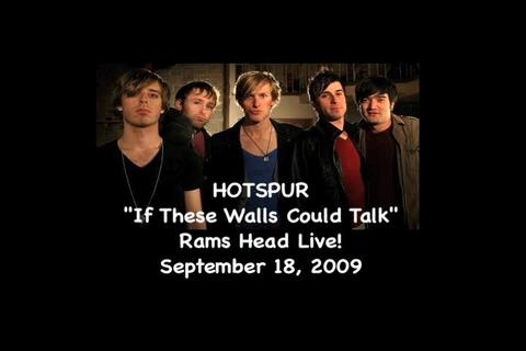 If These Walls Could Talk - Live, by Hotspur on OurStage