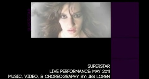 Superstar- Original Song, Video, & Choreography by Jes Loren, by Jes Loren on OurStage