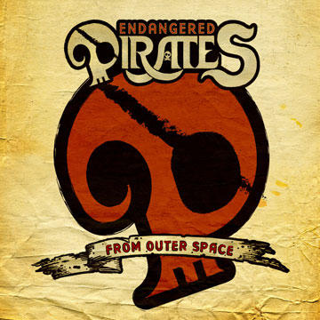 Brain In A Bullet, by Endangered Pirates From Outer Space on OurStage
