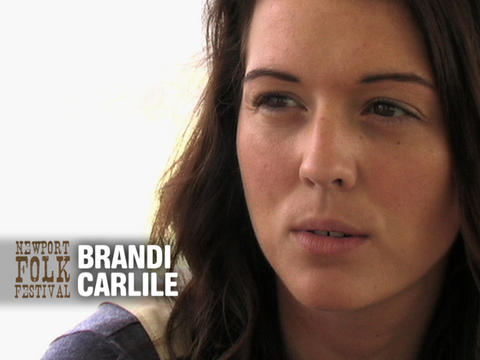 Brandi Carlile at Newport Folk, by OurStage Productions on OurStage