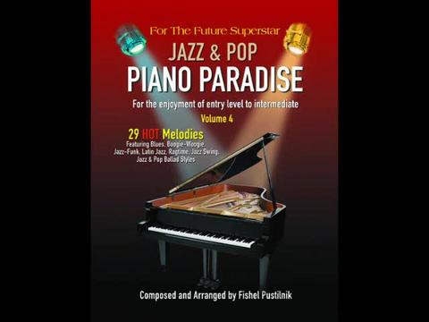 An Excellent Jazz & Pop Piano Books, by Fishel on OurStage