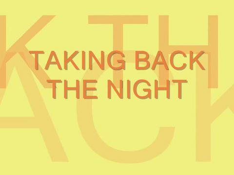 Taking Back The Night , by Steve Dafoe-SongWriter on OurStage