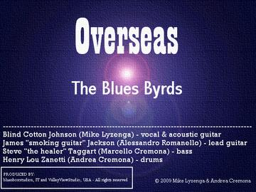 Overseas, by The Blues Byrds on OurStage