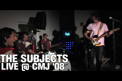 The Subjects Live @ CMJ, by OurStage Productions on OurStage