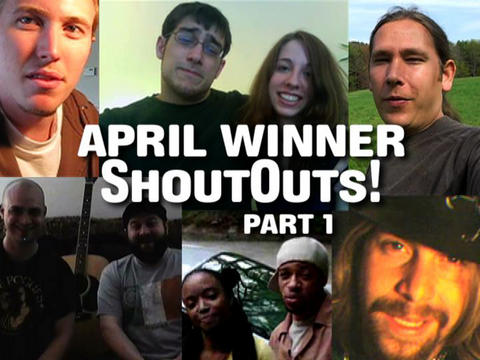 April Winner ShoutOuts:  Part 1, by ThangMaker on OurStage