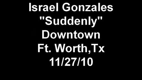 """""""Suddenly"""" on a Saturday Afternoon, by Israel Gonzales Music on OurStage"""