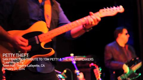 Learning To Fly - PETTY THEFT, SF Tribute to Tom Petty- Town Hall Theatre 2014 l, by Petty Theft on OurStage
