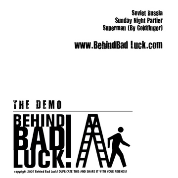 Behind Making The Demo!, by Behind Bad Luck! on OurStage