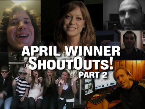 April Winner ShoutOuts:  Part 2, by ThangMaker on OurStage