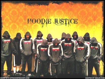 HOODIE JUSTICE, by randgame on OurStage