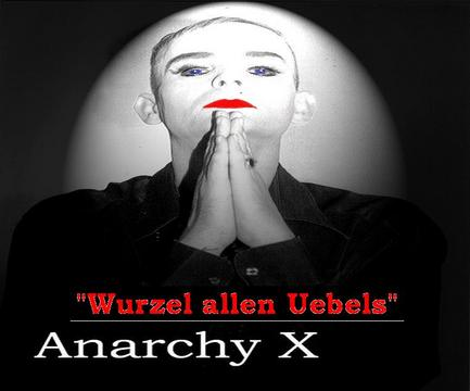 Wurzel allen Uebels, by AnarchyX (feat. Dian the Saint ) on OurStage