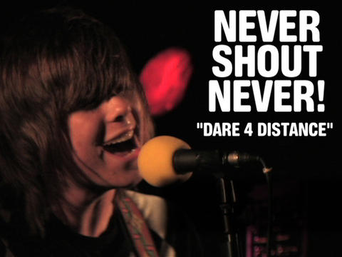 """nevershoutnever! """"Dare 4 Distance"""" (Live), by OurStage Productions on OurStage"""