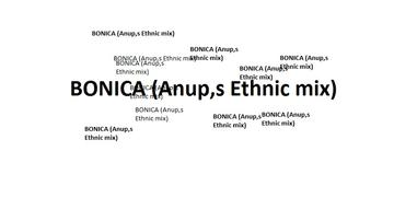 BONICA (Anup,s Ethnic mix), by ANUP BHOJAGI. on OurStage
