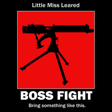Boss Fight, by Little Miss Leared on OurStage