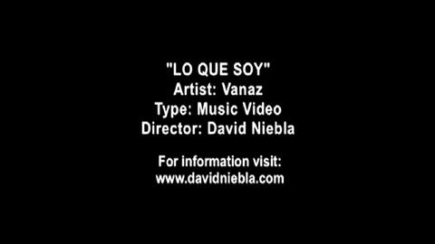 Lo Que Soy, by Vanaz on OurStage