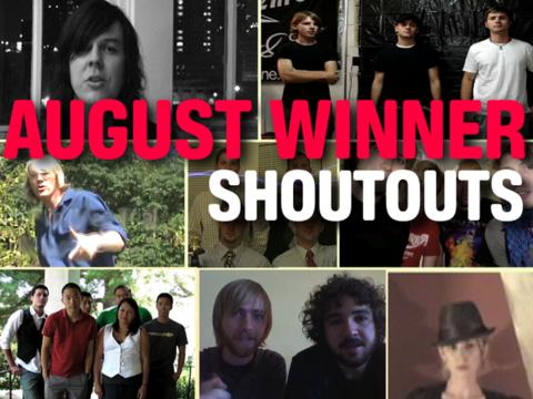 August Winners Say Thanks!, by OurStage Productions on OurStage