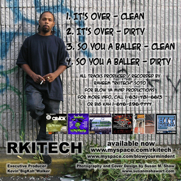 IT'S OVER, by R-KITECH on OurStage