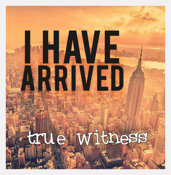 I Have Arrived (Live Performance), by True Witness on OurStage