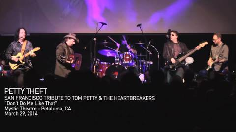 Don't Do Me Like That - PETTY THEFT, Tribute band to Tom Petty and The Heartbrea, by Petty Theft on OurStage