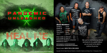Heal Me, by Pandemic Unleashed on OurStage