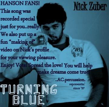 Turning Blue, by Nick Zuber on OurStage